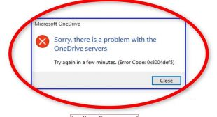 Fix OneDrive Error Code 0x8004def5 – Office.Com/Setup