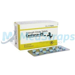 Cenforce 25mg | Sildenafil Citrate | Reviews, Side effects