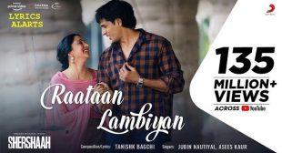 Raataan Lambiyan Lyrics in English – Shershaah | Jubin Nautiyal & Asees Kaur