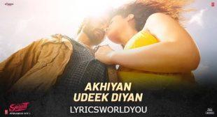 Akhiyan Udeek Diyan Lyrics – Master Saleem   Lyricsworldyou