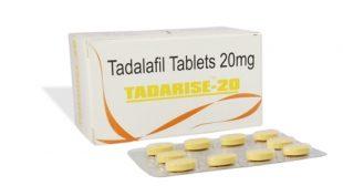 Tadarise 20 Mg Erectile Dysfunction or Male Impotence Treatment