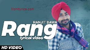 Rang Lyrics – Ranjit Bawa