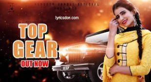Top Gear Lyrics – PardeepJandli , Soniya Sagar