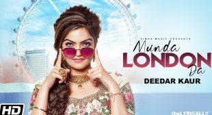 Munda London Da – Deedar Kaur