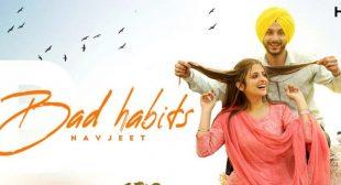 BAD HABITS LYRICS – NAVJEET | NewLyricsMedia.com