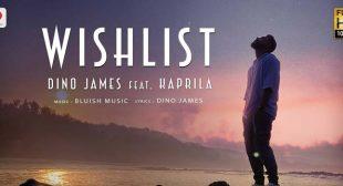 Wishlist Lyrics – Dino James