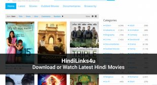 Hindilinks4u: Latest Hindi Movies To Watch & Download in 2020