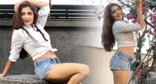 Ishita Raj's sexy legs in denim shorts are making fans crazy – actress from Sonu Ke Titu Ki Sweety.