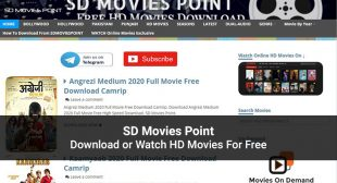 SD Movies Point: Latest Bollywood Movies To Watch Online For Free in 2020