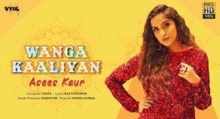Wanga Kaaliyan Lyrics in English – Asees Kaur