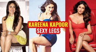 10 hot photos of Kareena Kapoor flaunting her sexy legs in short dresses.