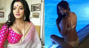 Bhojpuri actress, Monalisa sizzles in a bikini – shared this hot photo with fans.