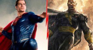Superman Vs Black Adam: Fan Imagines Face-Off Between Henry Cavill & Dwayne Johnson & It's POWERFUL!