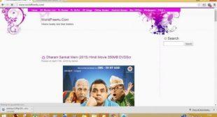 Worldfree4u 2020 Bollywood HD Movies Download Online
