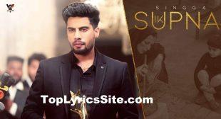 Ik Supna Lyrics – Singga – TopLyricsSite.com