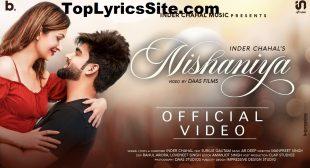 Nishaniya Lyrics – Inder Chahal – TopLyricsSite.com