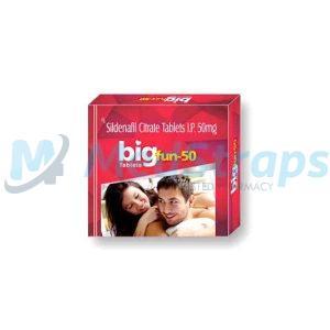 BigFun 50mg | BigFun 50 Tablet | Uses, Reviews, Side effects