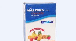 Malegra Oral Jelly Ideal ED Solution | certifiedmedicine.com