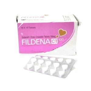 Fildena Chewable – Sildenafil Citrate – Welloxpharma